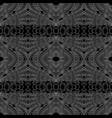 ethnic stylized seamless pattern vector image