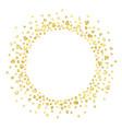 gold heartc vector image vector image