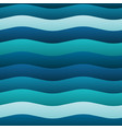 water geometric pattern vector image vector image