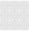 decorative modern geometric seamless pattern vector image