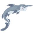 Goblin shark vector image vector image