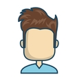 male avatar character isolated icon vector image vector image