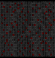 abstract technology background with binary vector image