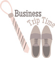 Business Trip vector image vector image