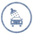 Car wash fabric textured icon