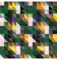 forest green dark gray triangular low poly mosaic vector image