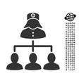 nurse patients icon with job bonus vector image