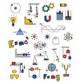 Physics icon vector image