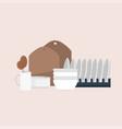 set different kitchenware cooking appliances vector image