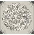 social network symbols vector image vector image