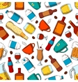 Alcohol and nonalcoholic drinks pattern vector image