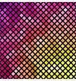 Bright pink and yellow mosaic vector image