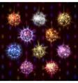 Disco balls set vector image vector image
