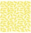 Fusilli Italian pasta Seamless pattern vector image