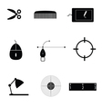 object icon black vector image