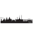 Sochi Russia city skyline Detailed silhouette vector image vector image