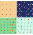 Nature Pattern set vector image