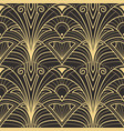 abstract art deco seamless pattern 23 vector image