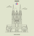 angers cathedral in