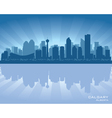 Calgary canada skyline vector | Price: 1 Credit (USD $1)
