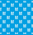 factory machine pattern seamless blue vector image