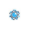 vision camera logo icon design vector image
