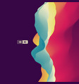 abstract background dynamic effect technology vector image vector image