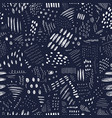 abstract monochrome seamless pattern with lines vector image vector image