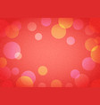 abstract new year background in bokeh vector image vector image