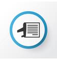 airline schedule icon symbol premium quality vector image vector image
