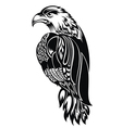 Detailed Decorative Hand Drawn Eagle vector image vector image