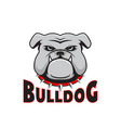 Logo bulldog head