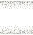 silver dot7 vector image vector image