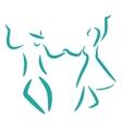 Swing dance vector image vector image