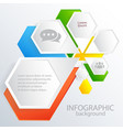 business web concept vector image