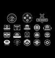collection photography logo templates photo vector image