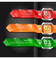 Colorful buttons website style options banner