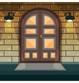 Home Entrance Door vector image