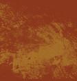 orange grunge texture vector image vector image