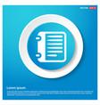 report list icon vector image
