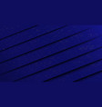 abstract paper cut style dark blue background vector image vector image