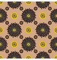 Bright Varicolored seamless pattern background vector image vector image
