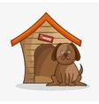 dog pet shop icon vector image vector image