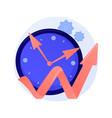 effective time managementt concept metaphor vector image vector image