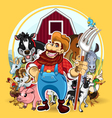Farm life vector | Price: 3 Credits (USD $3)