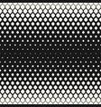 halftone seamless pattern geometric mesh vector image vector image