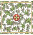 marijuana medical banner three vector image