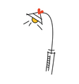 A street lamp vector image vector image