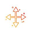 Arrows icon deisgn
