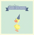 baby shower patka1 vector image